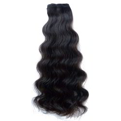 double drawn hair double drawn weft hair manufacturer from noida