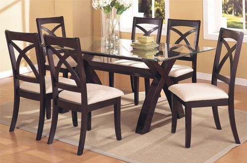 glass wood dining room table.  Dining Tables Wooden Sets Service Provider From Mumbai