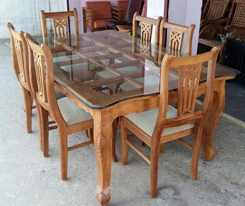 Wooden Furniture Dining Table Wood Teak Set Manufacturer From
