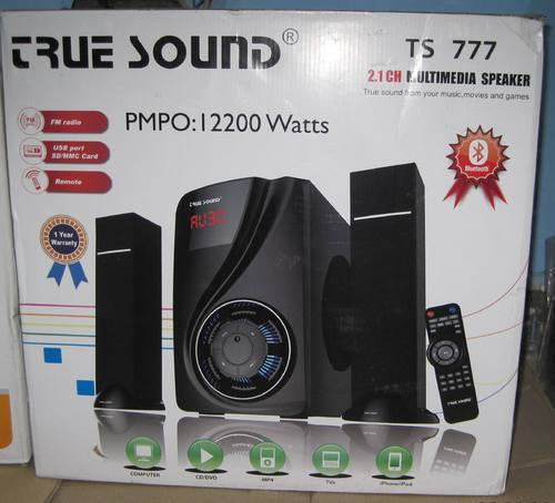 home theater ts 777 2 1 home audio system manufacturer from delhi