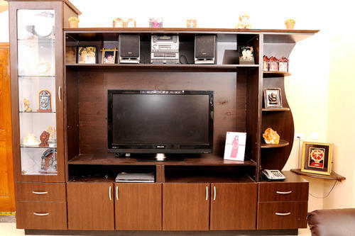 Wooden TV Showcase Architect / Interior