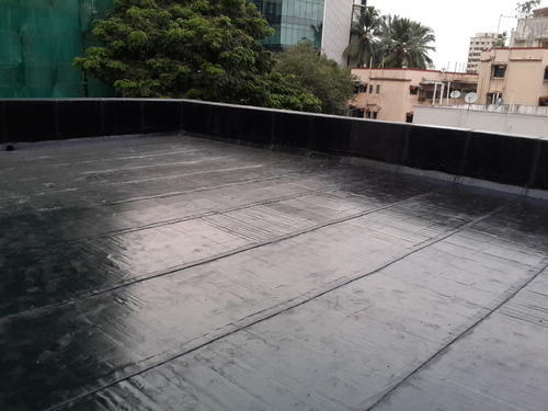 Terrace Parapet Membrane Waterproofing