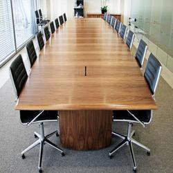 Wooden Conference Table In Gurgaon व डन क फ र स म ज ग डग Ha Get Latest Price From Suppliers Of