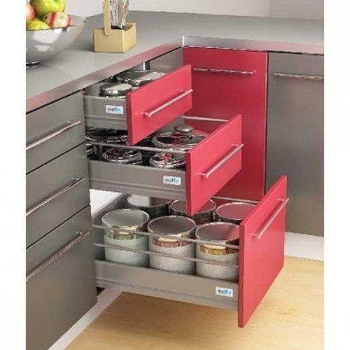 Stainless Steel Modular Kitchen Cabinets Chandigarh: Modular Kitchen Accessories