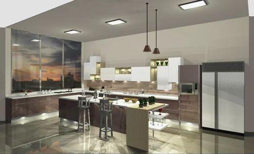 Elegant Sleek Modular Kitchen Designs