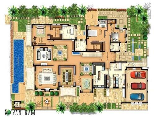 Architectural Design Home Floor Plans: Architectural Layout Plan For