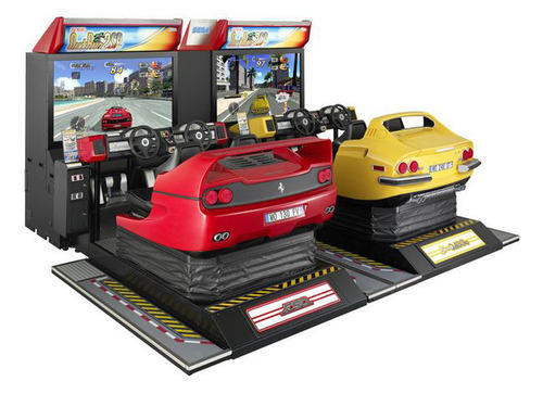 double player racing machines car racing two player arcade game