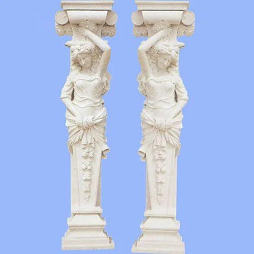 indian stone pillar white marble pillar manufacturer from jaipur