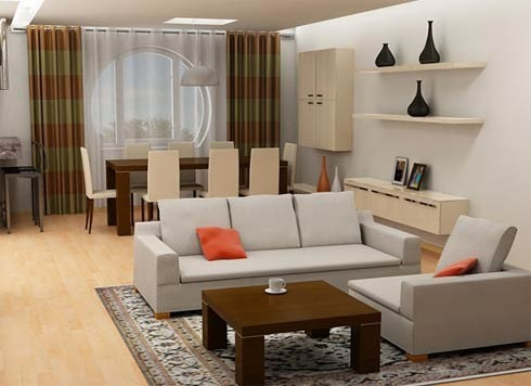 Drawing Room Interior Decoration Services