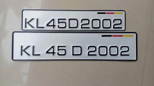 Clapper Dies For Number Plate Embosing Vehicle Number Plate Dies