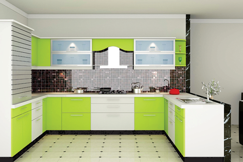 laminates designs for kitchen. Laminate Modular Kitchen  Manufacturer From Vadodara