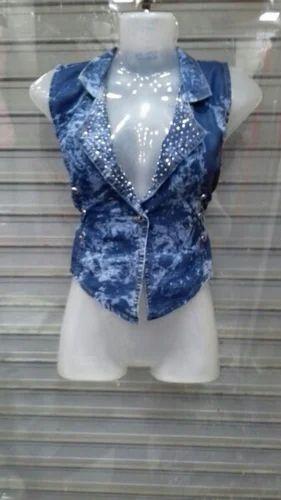 Denim Jacket For Girls Denim Kurti For Girls Manufacturer From Mumbai